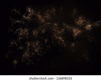 Fireworks (or science image)