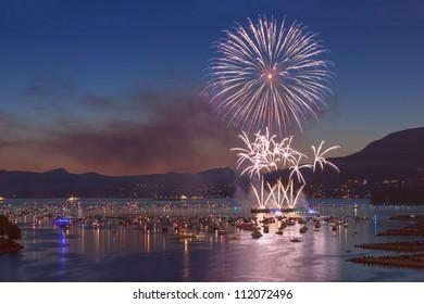 Fireworks Over English Bay