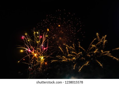 Fireworks or pyrotechnic devices category explosive one. Features include sound of fireworks, lighting fireworks, smoke and ash are designed to burn and ignite the light of various colors.