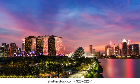 Fireworks of Singapore
