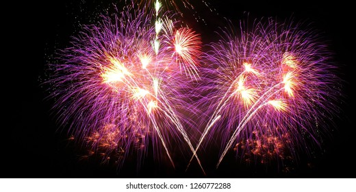 Fireworks In The Sky image