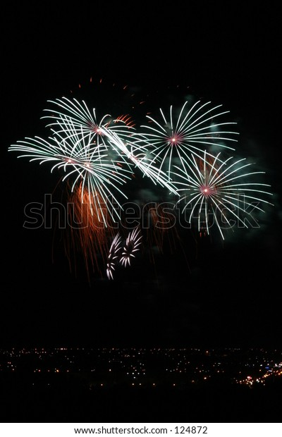 Fireworks in South Australia, 2005