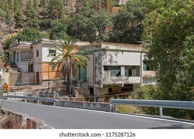 "Firgas, Spain. September, 4 th 2018: ""Balneario de Azuaje Los Berrazales"""