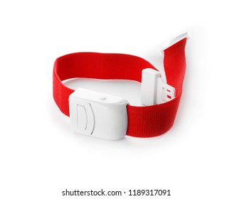 First aid tourniquet on white background. Medical equipment