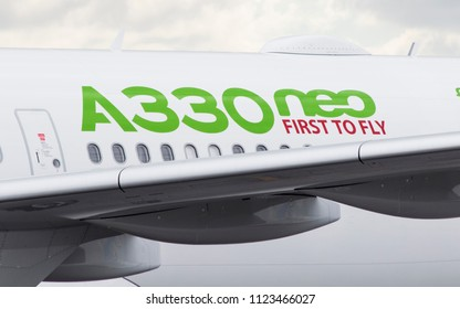 First Airbus A330 900 NEO of TAP Air Porugal Airlines in a test flight at Guarulhos Airport, Sao Paulo during a world tour - Jun/18