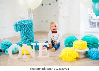 First birthday boy party