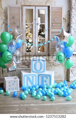 One Year Birthday Decorations Children