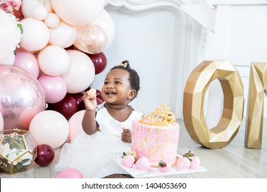 First birthday party and cake smash