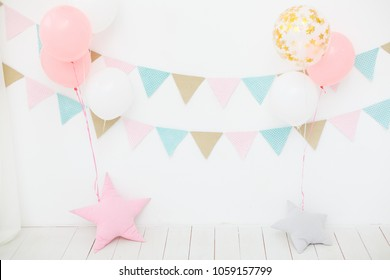 First birthday party for little girl princess