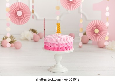 1st Birthday Cake Images, Stock Photos & Vectors | Shutterstock