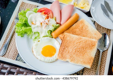 First Breakfast morning
