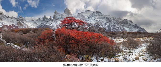 First day of winter in Patagonia.
