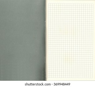 First page and cover inner side of an arithmetic exercise book