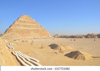 "The first pyramid built in Egypt - the ""Djoser Step Pyramid'' - which acted as a template for the later pyramids at Giza and Dashur. Its one of the must-visit spot in Egypt."