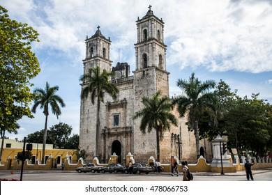 first Roman Catholic church in the Mexican Yucatan