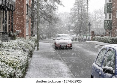First snow of winter