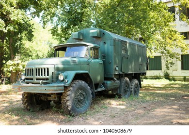 At first soviet and then Russian military truck