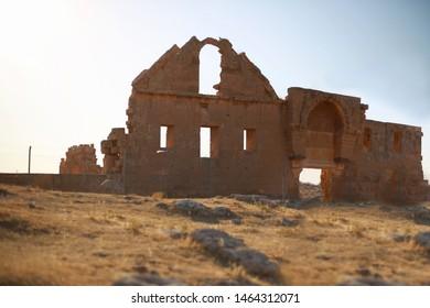 First university ruins Harran Sanliurfa Turkey