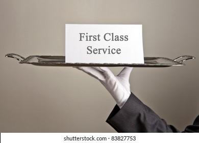 erstklassiger Service