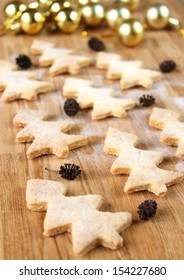 fir-tree cookies, traditional New Year's baking