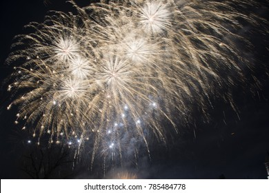 Firworks 2018 Iasi County Romania New Year