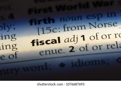 fiscal fiscal concept.