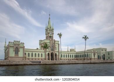 Fiscal Island (Ilha Fiscal) in Guanabara Bay - Rio de Janeiro, Brazil