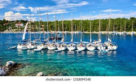 Fiscardo bay in Kefalonia, Ionian Islands, Greece