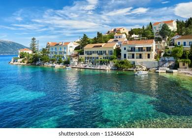 Fiscardo in Kefalonia, Ionian Islands, Greece