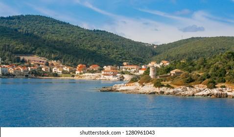 Fiscardo village Kefalonia