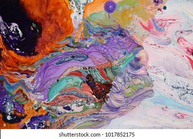 fish aquarium color animation funny children's background desktop, oil painting, artist, Roman Nogin, bright paints