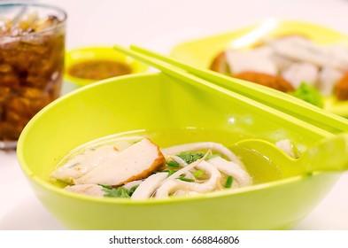Fish ball noodles Noodle Bowl