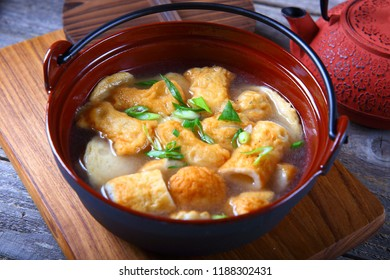 Fish Cake Soup with Green Onion