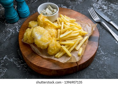 fish and chips on board