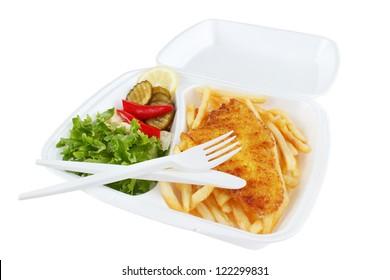 Styrofoam Box Food Images, Stock Photos & Vectors | Shutterstock