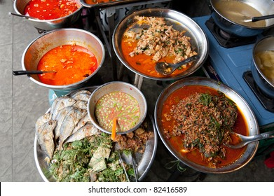 Fish and curry in Thailand
