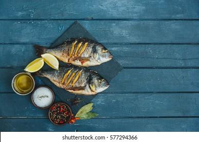 Fish dish - roasted fish