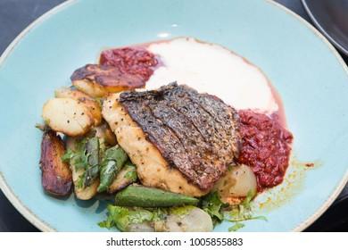 fish fillet dish