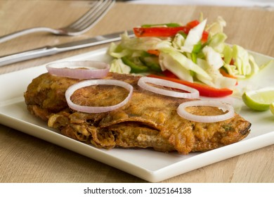 Fish kabiraji is a Bengali fish fillets which is coated in beaten egg and breadcrumbs and pan fried.