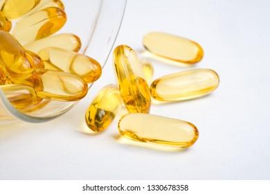 Fish oil omega 3 capsules