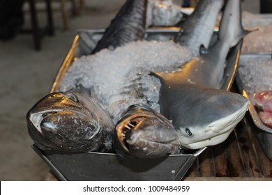 fish prepared for cooking