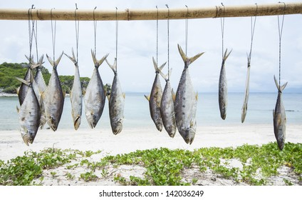Fish preservation by drying in Thailand