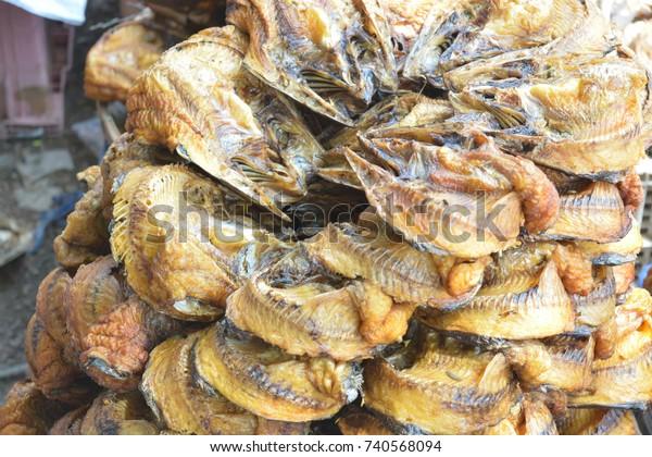 Fish Smoking Process Home Use Thailand Stock Photo (Edit Now