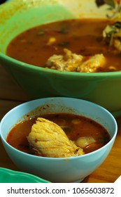 fish sour soup made of tamarind paste