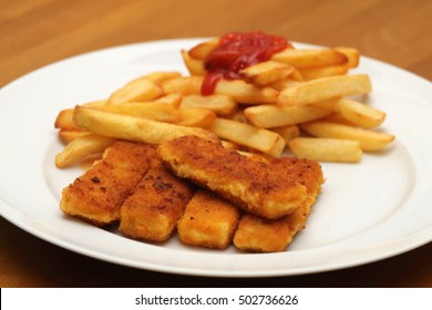 fish sticks with french fries