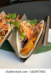 Fish Taco with Cabbage Slaw