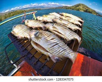 "Fish that fishermen make food preservation called ""Salted fish"""