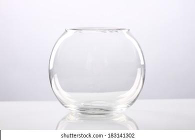 fishbowl, vase, glass