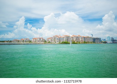 Fisher island. Miami Beach, South Beach, Florida, USA.