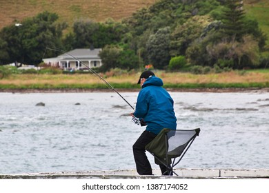 Fisher in Kaikoura, New Zealand